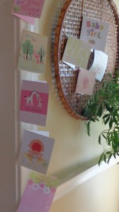 Baby card display