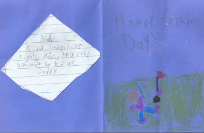 Daddy' day card 001