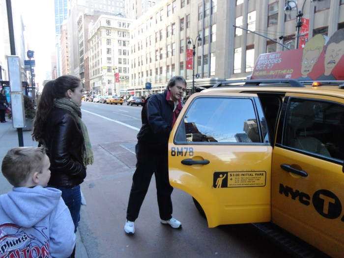 Clown car cab ride