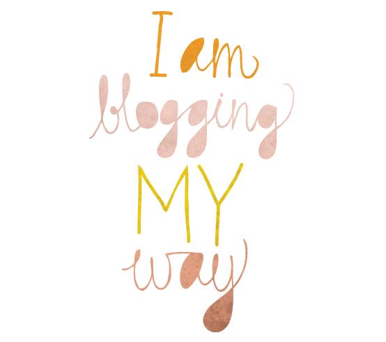 Slow Blogging My Way