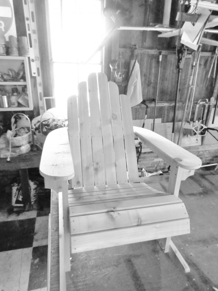 Plain Adiraondack Chair from Shalavee.com