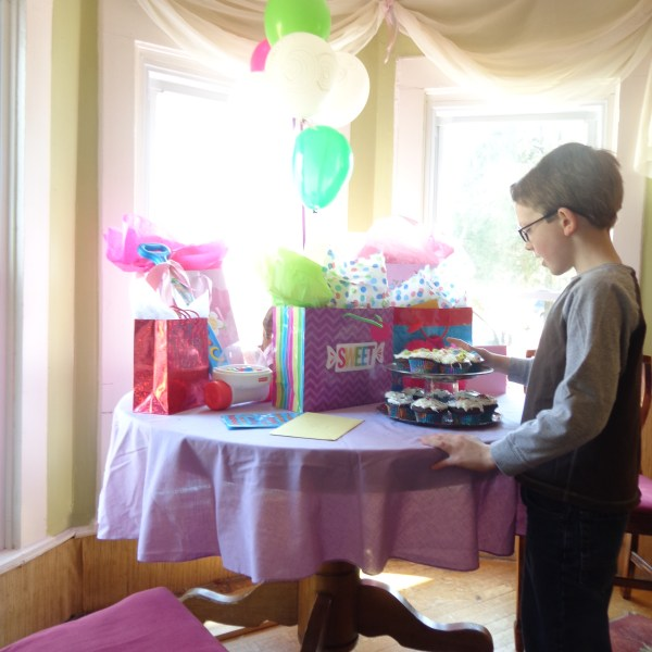 Fiona's First Birthday Party