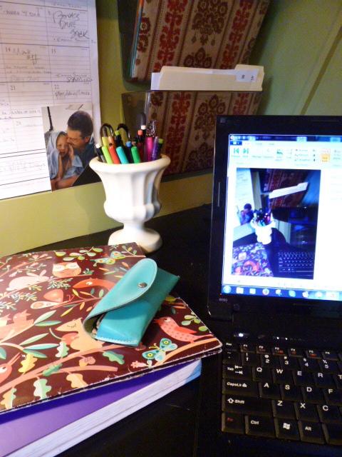 Desk top for Instagram Styling Challenge on Shalavee.com