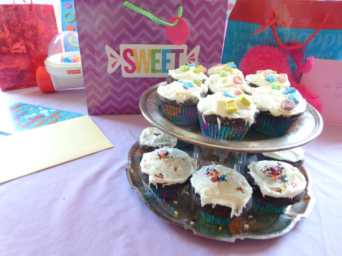 Aunt Emma's chocolate cupcakes from Shalavee.com
