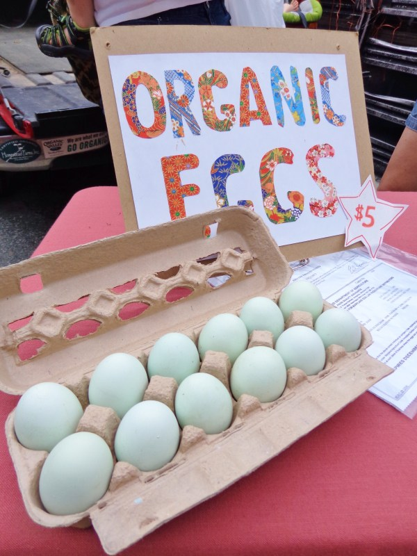 eggs from the Farmer's Market in #Chestertown,MD from Shalavee.com