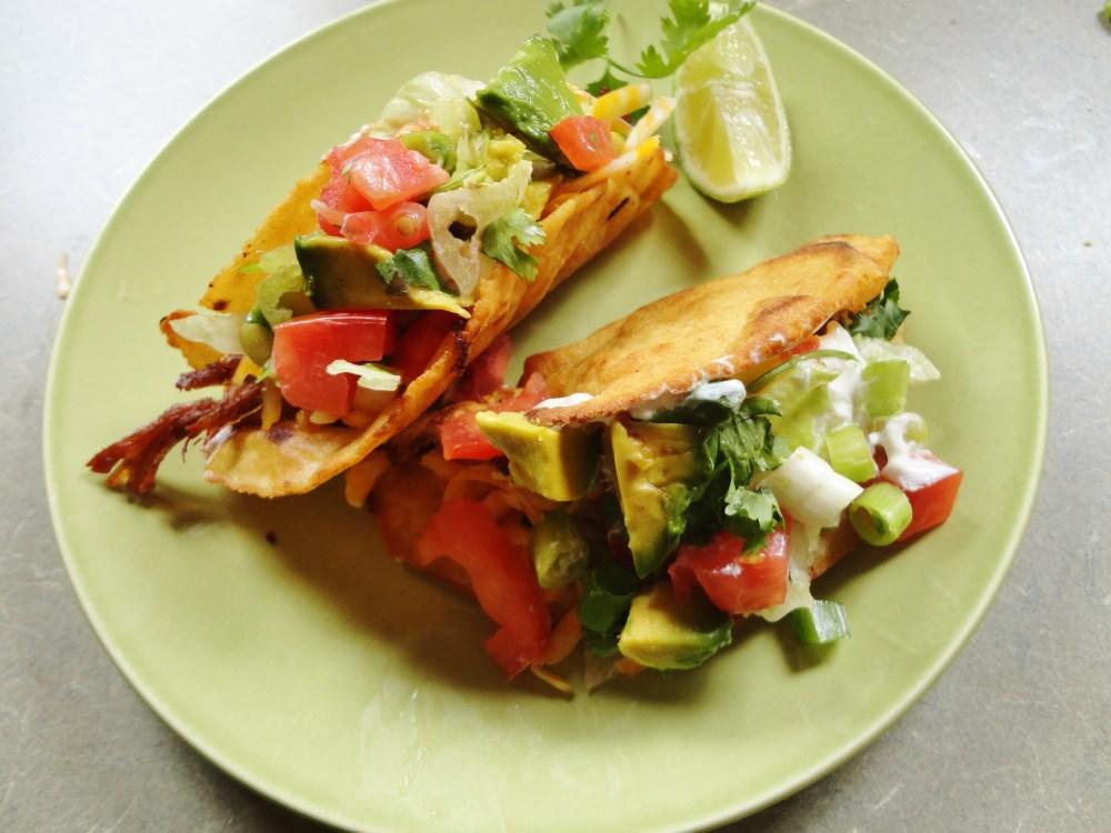 Homemade tacos from Shalavee.com