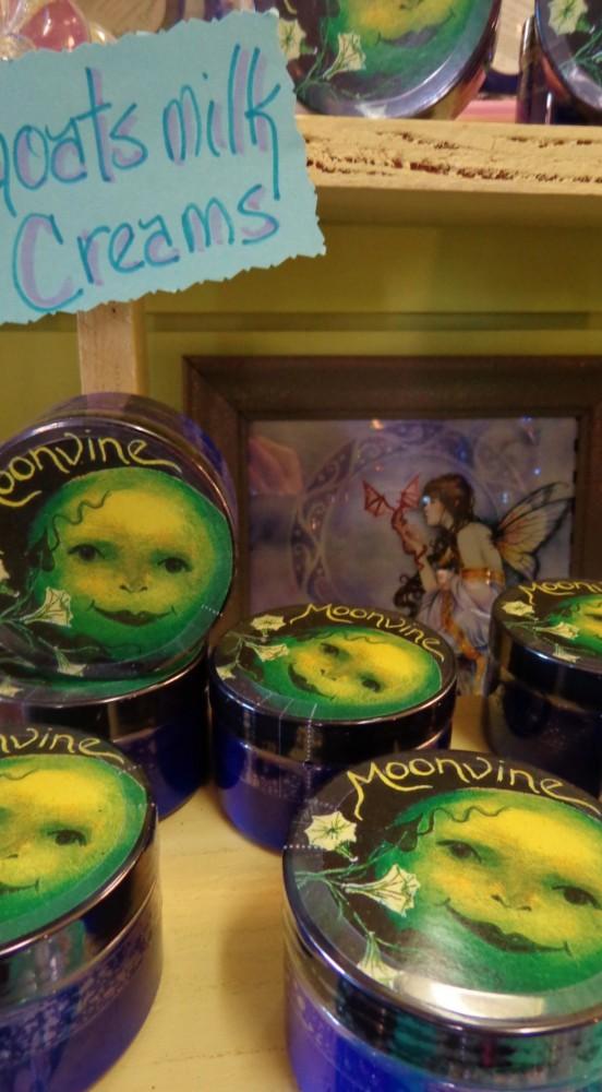 Moonvine creams at Moonvine on Shalavee.com