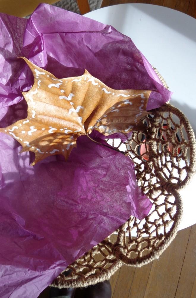brown leaf inspiration on sha;avee.com