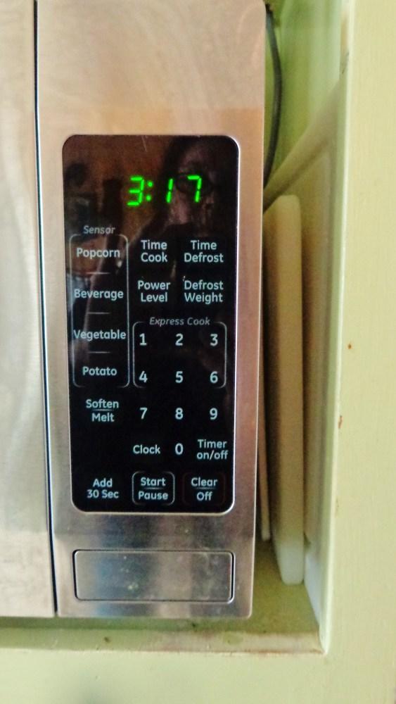 The microwave on Shalavee.com
