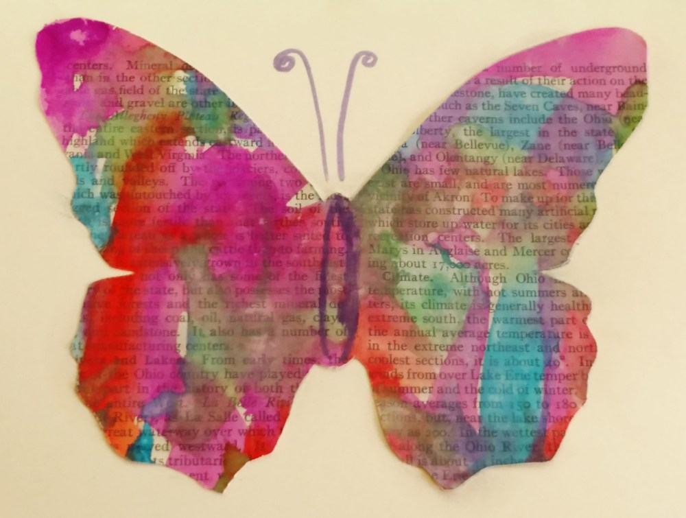 Watercolor Butterflies from Shalavee.com