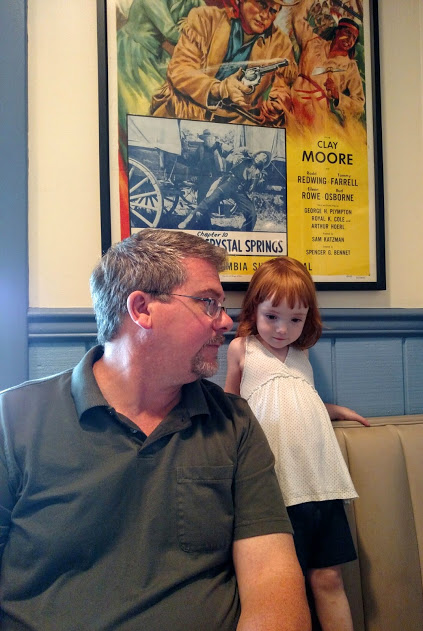 Daddy and Fiona at Jimmys on Shalavee.com