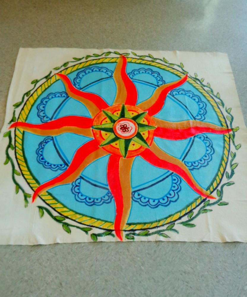 Finished Floor cloth on Shalavee.com