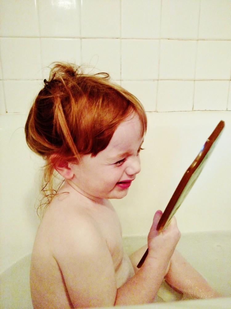 5 June It's OK to be OK post Fiona-in-the-tub-on Shalavee.com