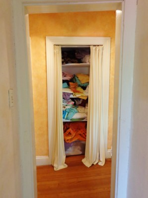 The messy closet on Shalavee.com