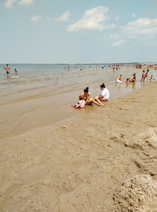 Lewes beach July 1, 2015 on Shalavee.com
