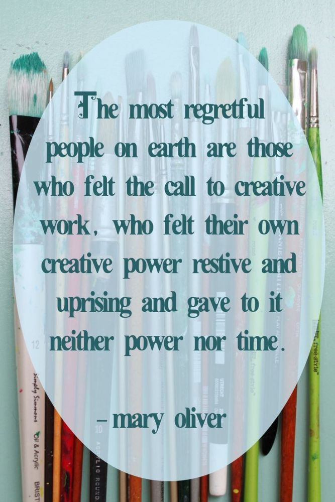 Mary Oliver on regret on Shalavee.com