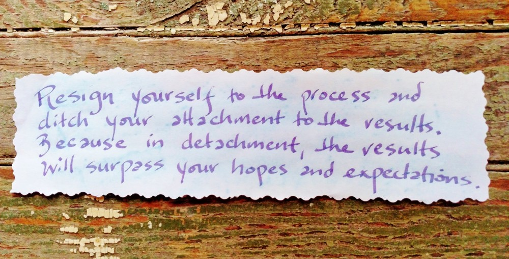 resign yourself to the process on Shalavee.com