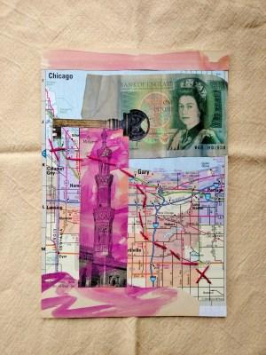 travel bug collage by Shalagh Hogan on Shalavee.com