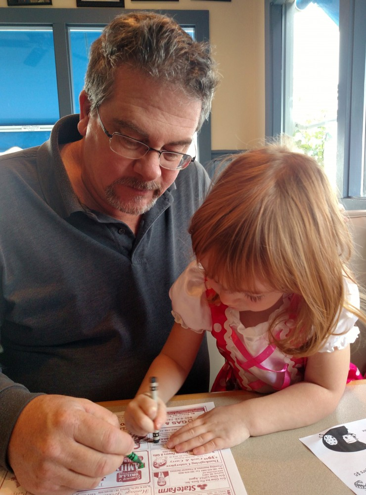 Drawing with Daddy on Shalavee.com