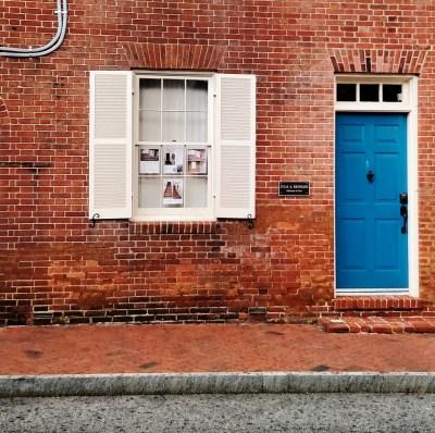 cobalt door in Annapolis on Shalavee.com