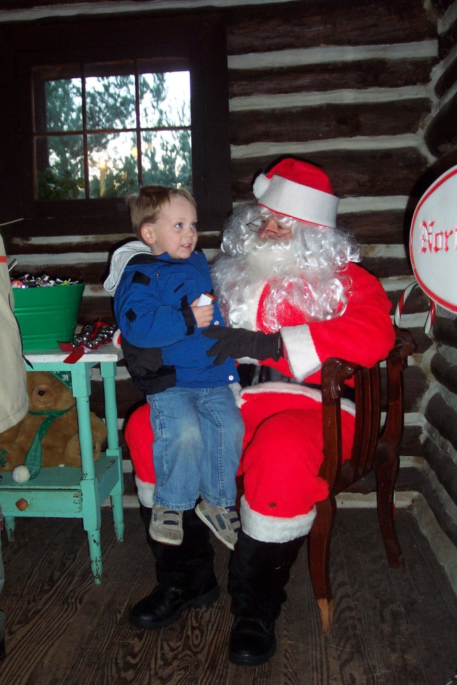 Eamon and Santa from 2007 on Shalavee.com