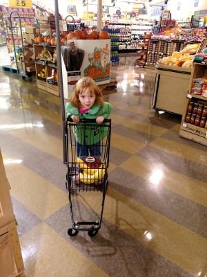 Fiona grocery shopping on Shalavee.com