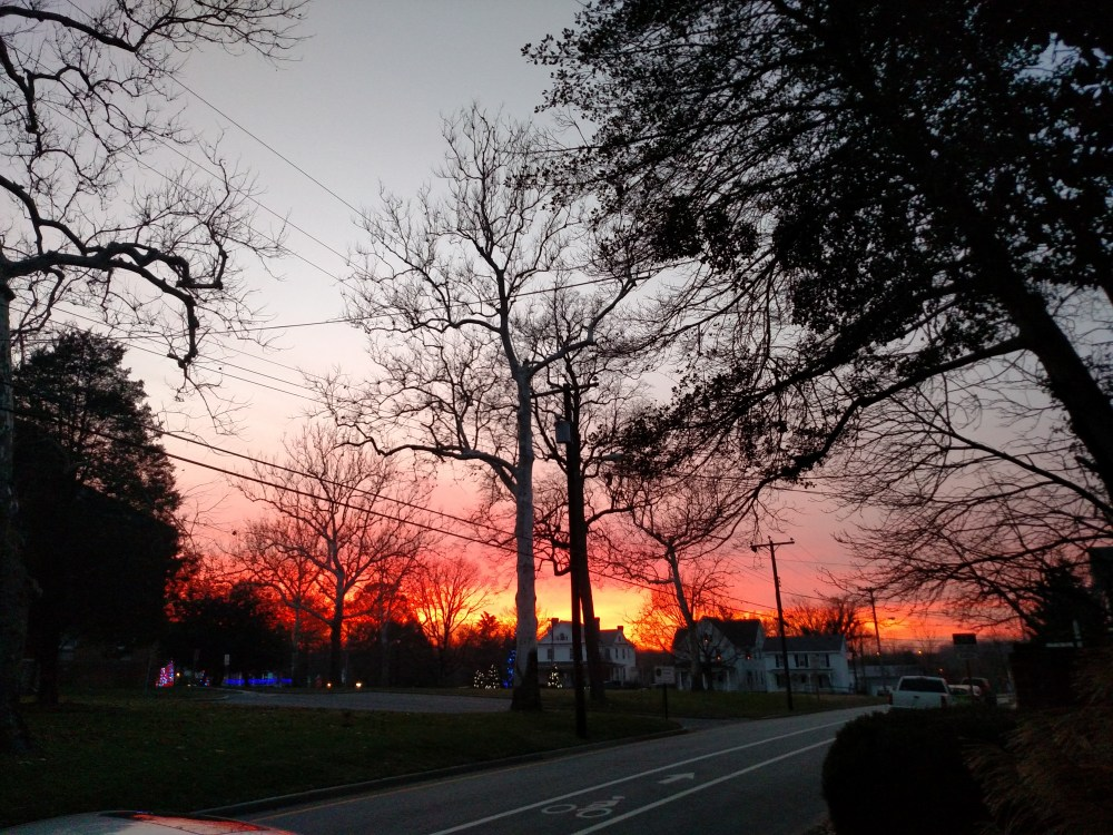 December sunsets on Shalavee.com