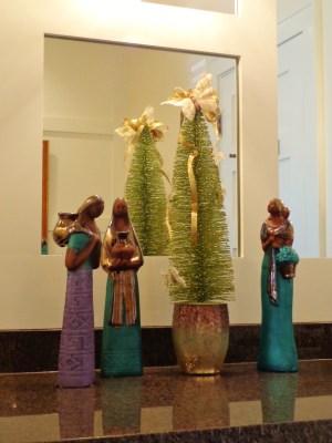 bathroom  Christmas tree on Shalavee.com