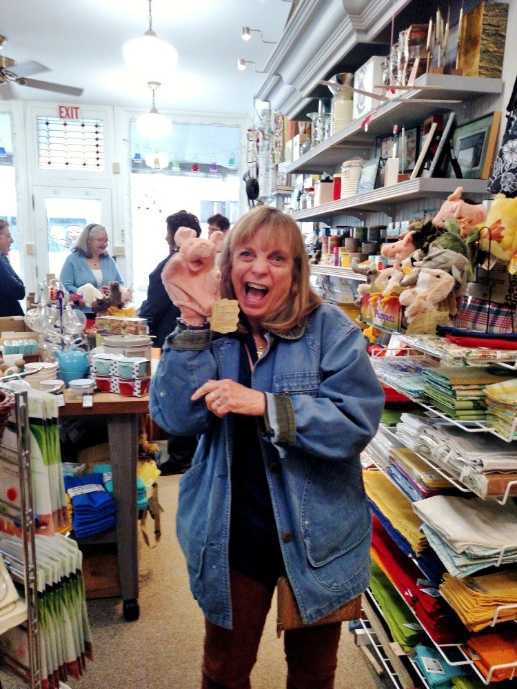 Terry at Redbud House Kitchen Shop in New Oxford, Pennysylvania on Shalavee.com