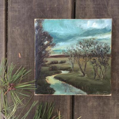 Another Megan Gray painting on Shalavee.com