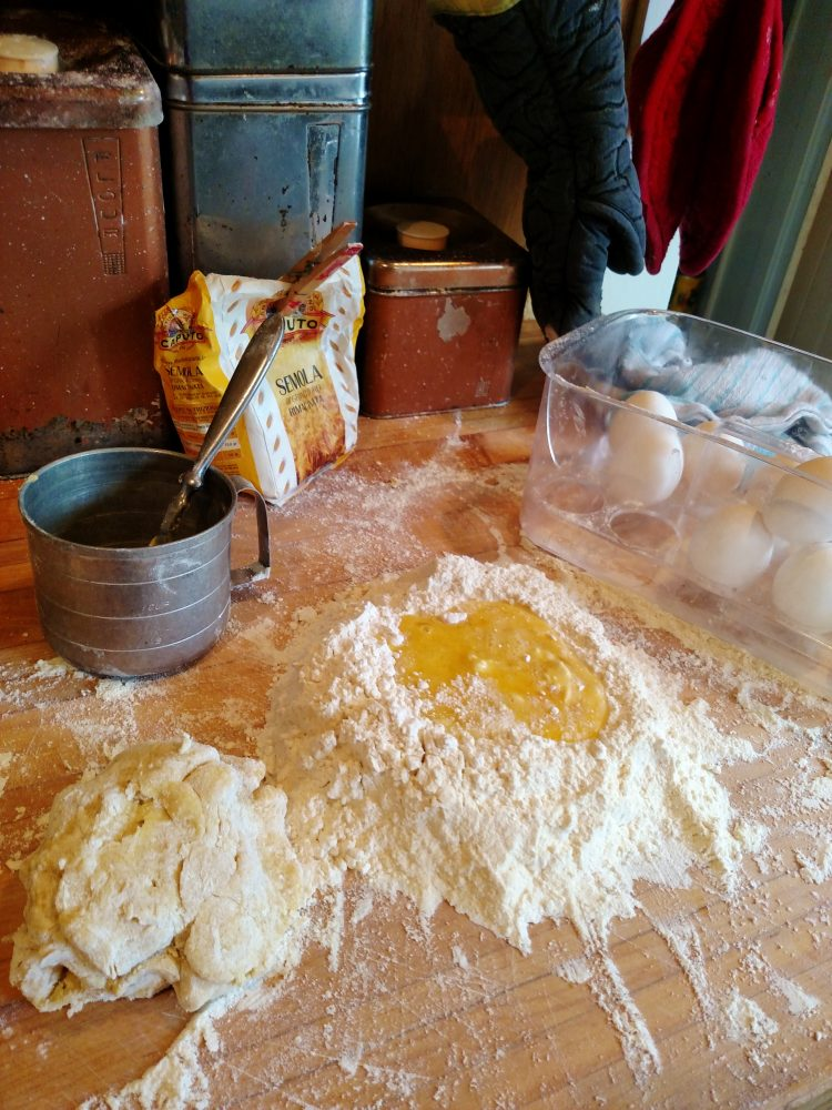 Making pasta on Shalavee.com