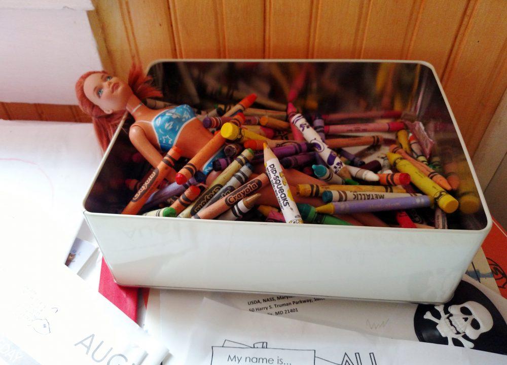 barbie-bathing-in-crayons on shalavee.com