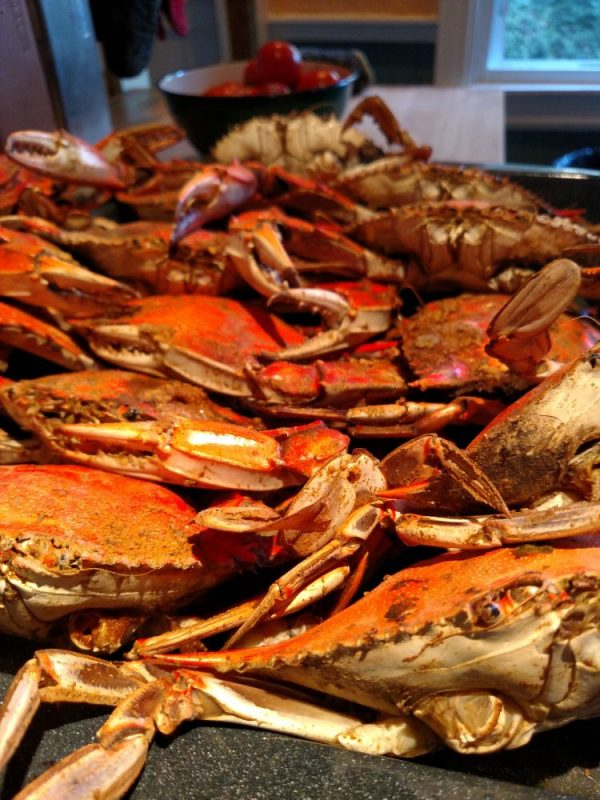 crabs-an-eastern-shore-maryland-delacacy gluten free pizza on Food Porn on Shalavee.com