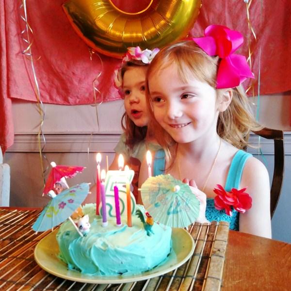 Fiona's Moana Themed 5th Birthday Party