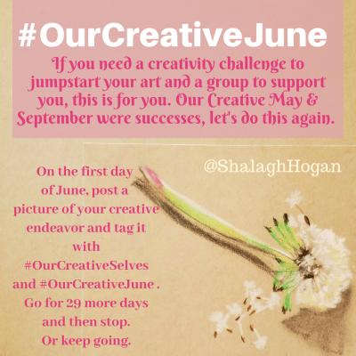 Our Creative June on Shalavee.com