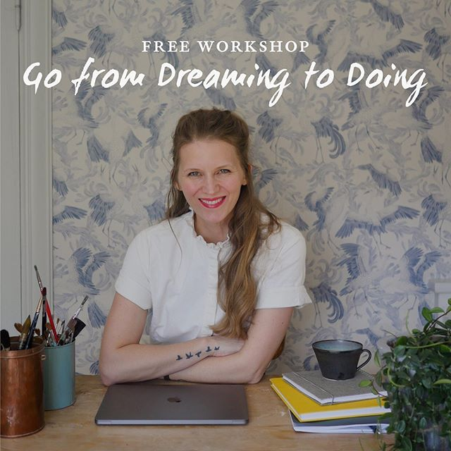 Enrolled and Sharing the Creative Doer Course from Anna Lovind on Shalavee.com