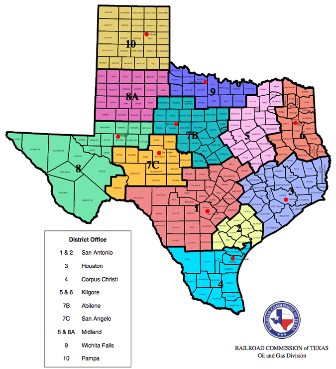 Map Texas Oil Shale