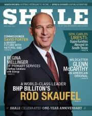 SHALE Magazine Cover Rod Skaufel BHP Billiton