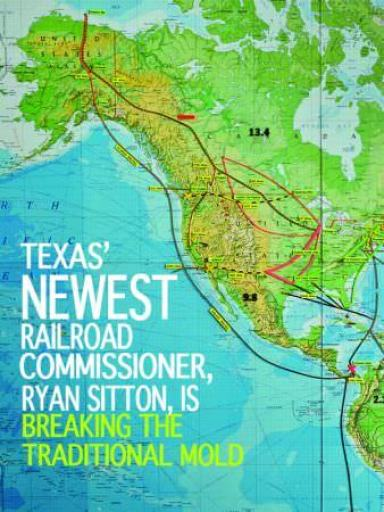 Commissioner Ryan Sitton Map