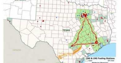Map of Texas Clean Energy Triangle - Photo Credit: UTSA