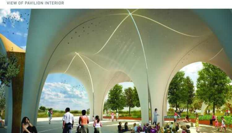 BHP Biliton donates for Confluence Park pavilion