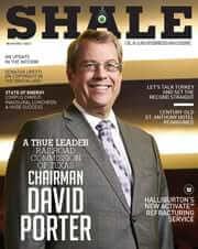 SHALE Oil & Gas Business Magazine David Porter November / December 2015 Cover