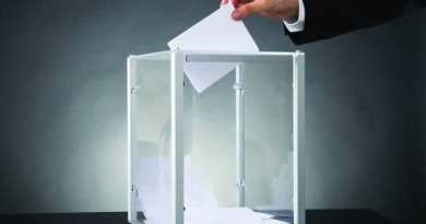 SHALE Oil & Gas Business Magazine: Bigstock Photo - Business person Putting Ballot In Box