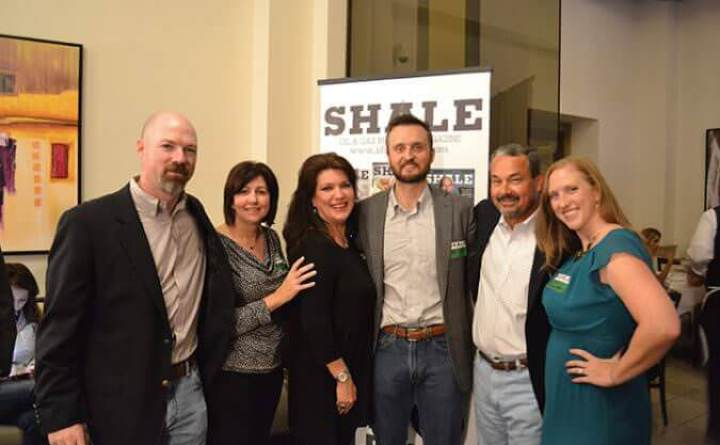 SHALE Magazine May/June 2016 cover party honoring Brandon Seale, Howard Energy Mexico