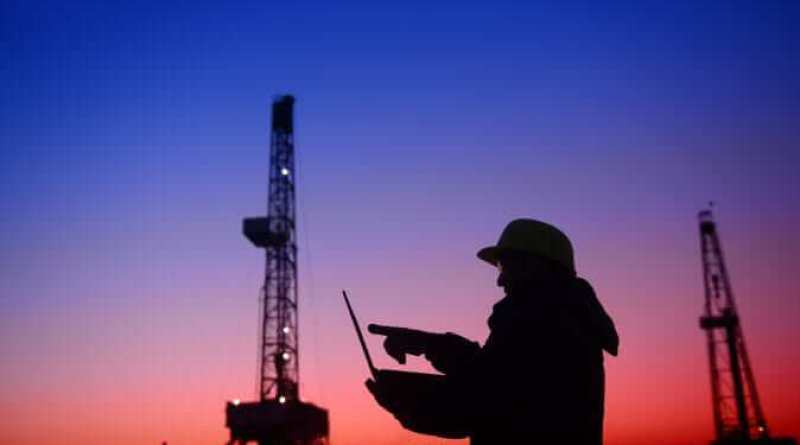 The oil workers in work, in the fields - Technology has Transformed the Energy Industry - Jamie Bobbitt, WEN