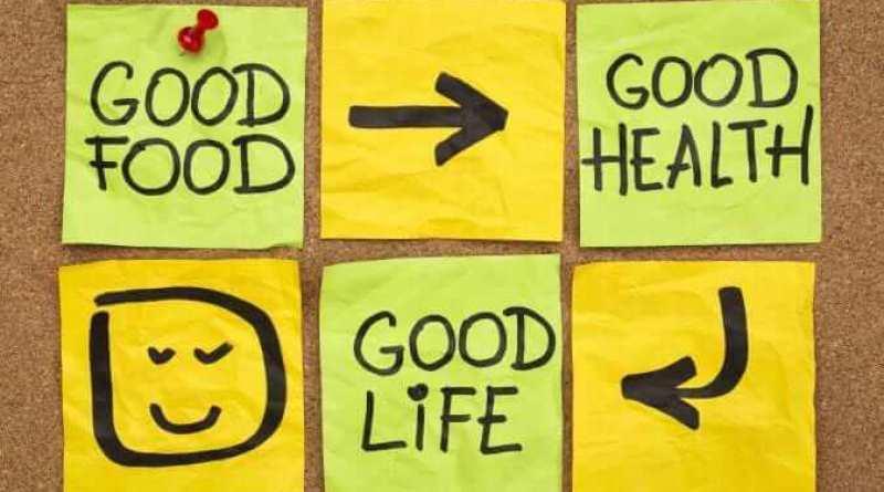 good food, healthy and life
