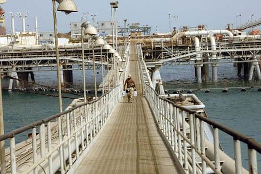 public domain offshore walkway