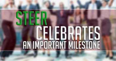 STEER Celebrates an Important Milestone - Diversity business team jumping celebrating success