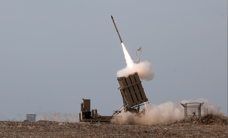 DEFENSE%3A+Iron+Dome+missiles+intercepting+rockets+sent+by+Hamas+toward+Israeli+population+centers.+According+to+jpost.com%2C+Iron+Dome+shot+down+735+missiles+of+3%2C659+that+were+fired.