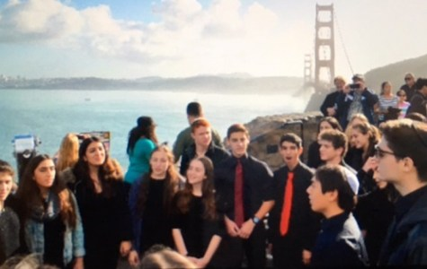 In first-ever trip, choir spreads Jewish a capella to Bay Area